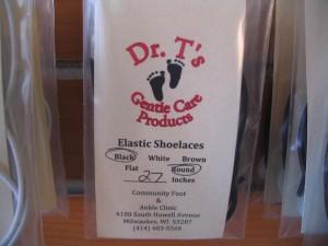Dr T. elastic shoerub
